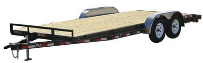 Car Haulers and Equipment Trailers