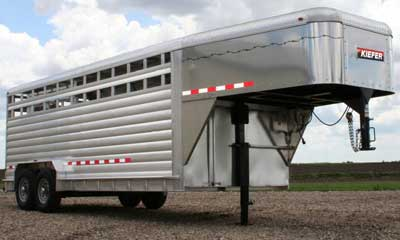 Kiefer Livestock Trailer